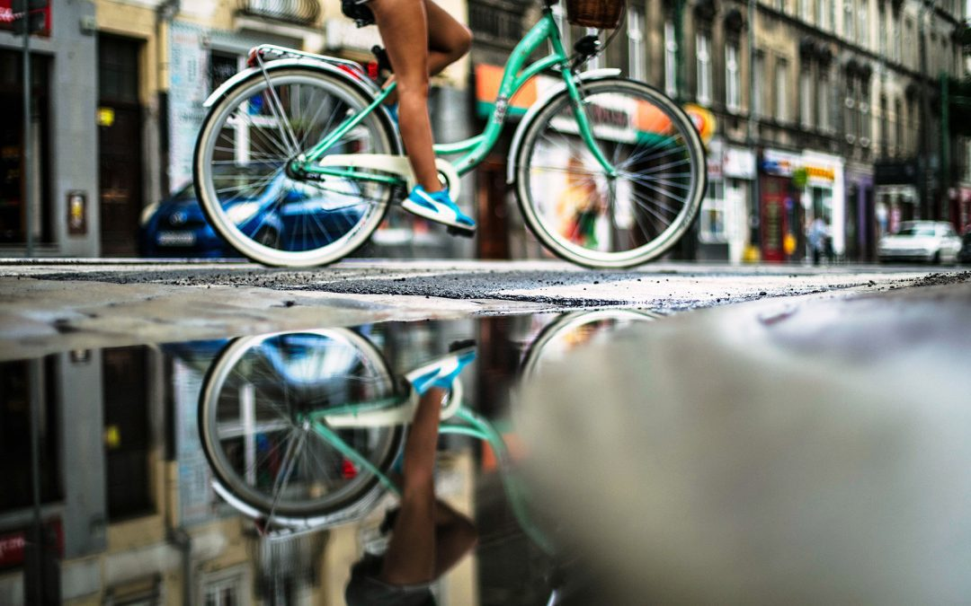 Ongeval met elektrische fiets